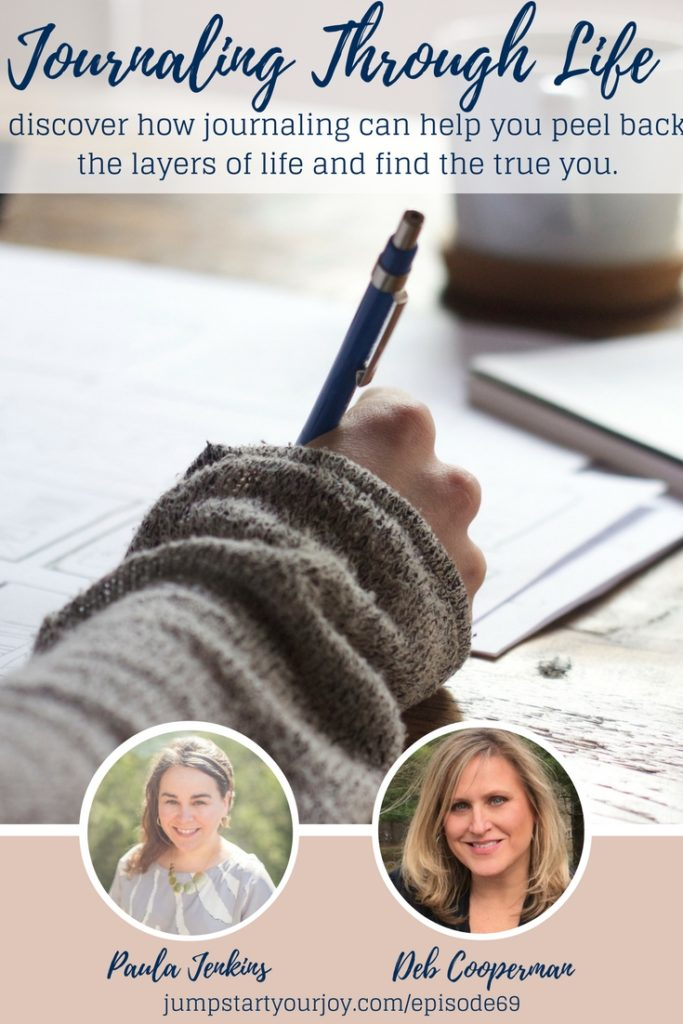 Want to learn about how to set up a great journaling practice, or wondering if it would be helpful to get into journaling? Deb Cooperman shares lots of great ideas about why writing in a journal each day can help you get to know yourself better, and help you set goals, and feel more balanced. Pin and Save for later, and click to listen to this great interview. www.jumpstartyourjoy.com Learn about Journaling Your Way Through Life