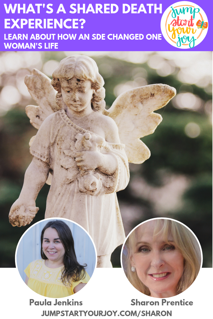 Author Sharon Prentice joins host Paula Jenkins to talk about the subject of her new book Becoming Starlight: A Shared Death Experience. #podcast #spiritual #neardeathexperience