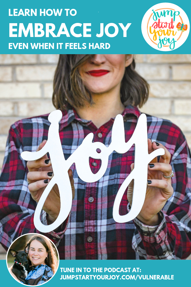 Host Paula Jenkins shares signs your life is missing joy and how to embrace joy even when it feels hard. #podcast #choosejoy #entrepreneur