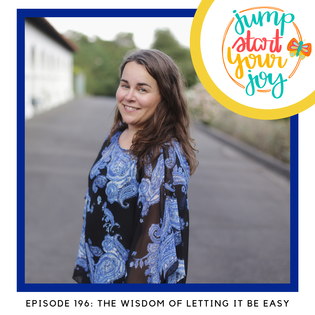 The wisdom of letting it be easy with host Paula Jenkins