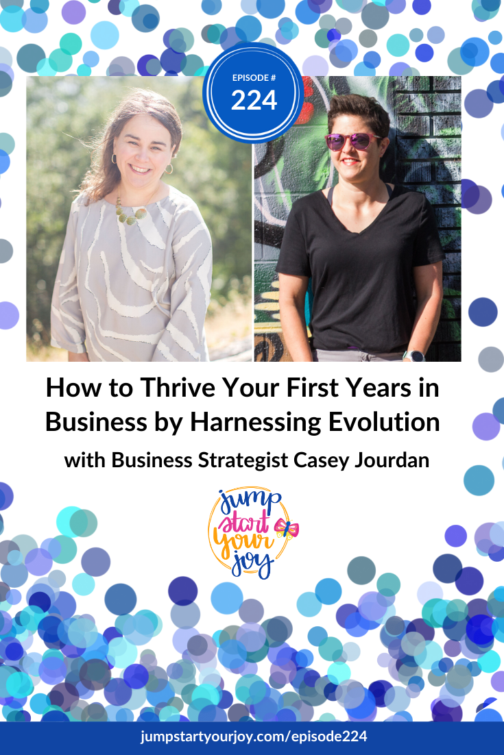 Casey Jourdan is on the show this week to talk about how to see change as an opportunity to be embraced, and that through leaning into our evolutions we can take our business to its next best level. #podcast #entrepreneur #jumpstartyourjoy