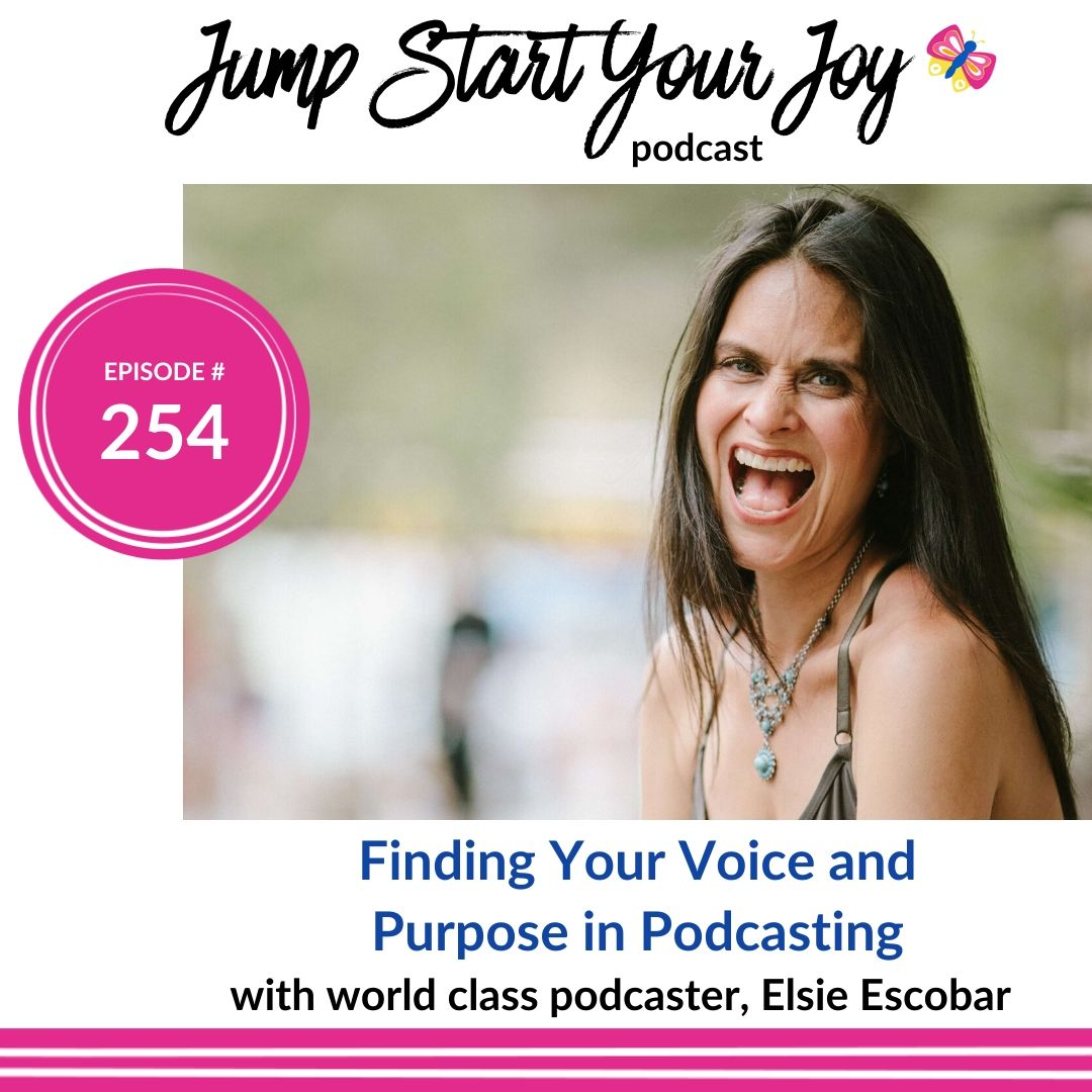 How to Find Your Voice, and Your Purpose, in Podcasting with Elsie Escobar